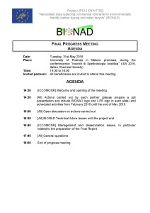 BIONAD_30 month meeting_31 05 2016_Agenda