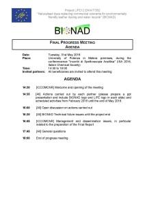 BIONAD_30 month meeting_31 05 2016_Agenda