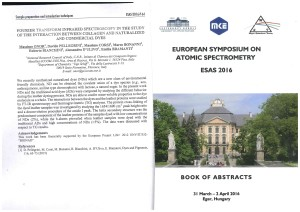 European Symposium on Atomic Spectrometry